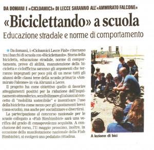 Biciclettando - Aprile 2014